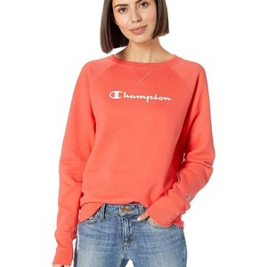 Up to 50% Off Champion Women's Fleece Boyfriend Crew Sweatshirt @ Amazon.com