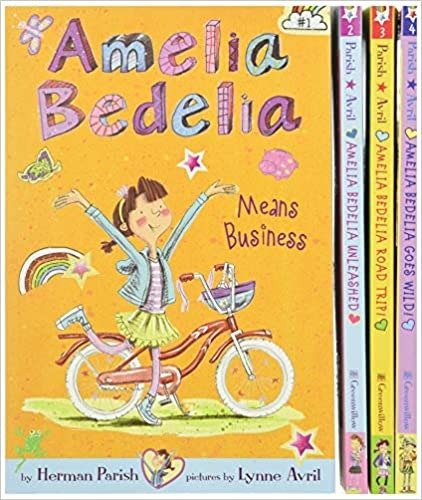 Amelia Bedelia 童书1-4