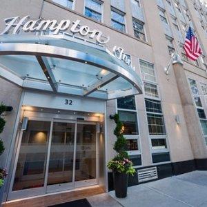 $104起曼哈顿汉普顿酒店特卖