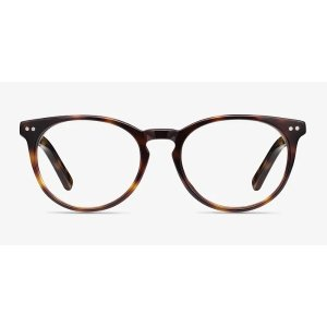EyeBuyDirectMorning - Round Tortoise Frame Glasses | EyeBuyDirect