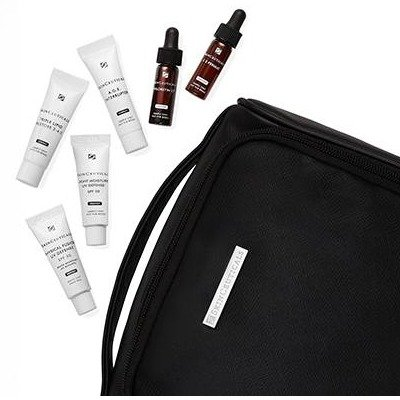 Complimentary with $185 Order + Bonus Gift with $250 Order.SkinCeuticals Gift With Purchase! Customizable 4-Piece Travel Regimen.