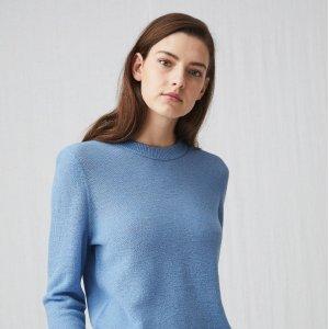 精选75折 £44收封面款毛衣ARKET 高端慢时尚品牌热卖 品质+版型=气质 海军蓝的高级感