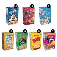 Kellogg's 早餐麦片混合口味48盒