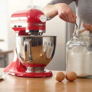 低至6折 $49收平底锅KitchenAid 系列厨具热促 颜值超高厨师机