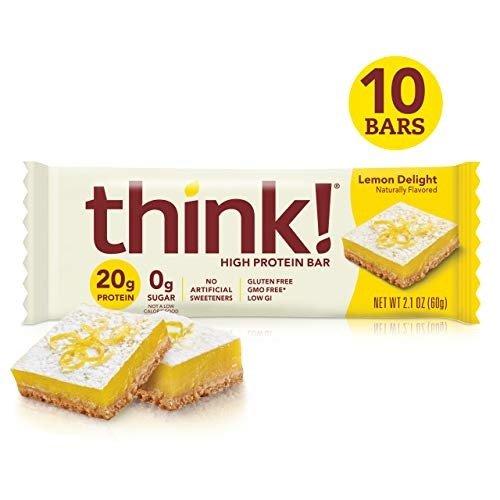 高蛋白能量棒 柠檬蛋糕口味 10条装