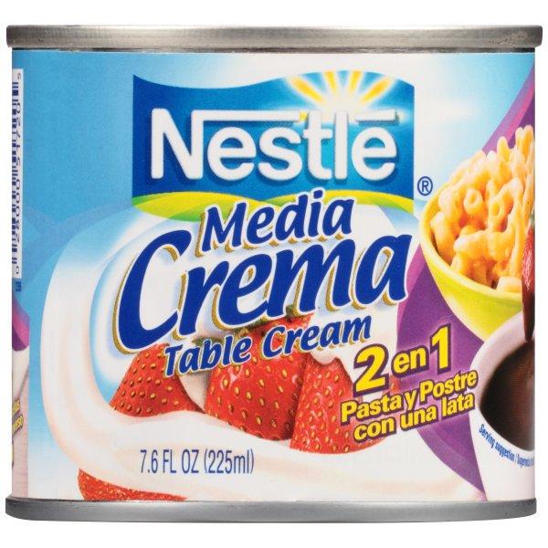 Nestle Media Crema 低乳脂奶油 7.6oz 3罐