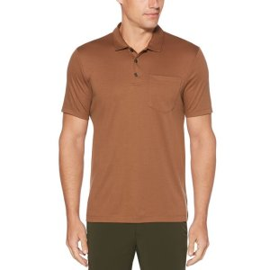 Perry Ellis2 for $60Ultra Soft Touch Solid Polo