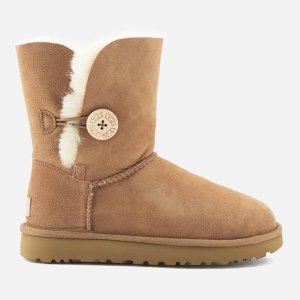 码全免邮中国¥1008UGG 女士 Bailey Button II雪地靴6.7折热卖