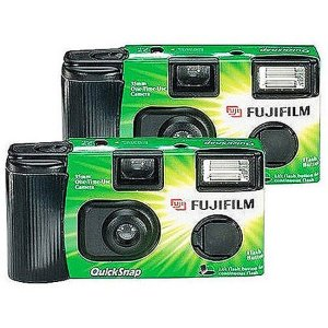 $15.38Fujifilm Disposable 35mm Camera With Flash, 2 Pack