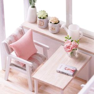 现价$31.99(原价$34.99)Decdeal 迷你Loft公寓套装 粉蓝2色可选 让你爱上做手工