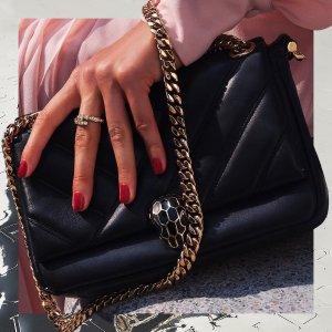 低至6折+定价优势Bulgari 时尚专场,收最经典时髦蛇头包,蛇头手环$300+