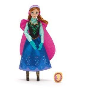 Disney冰雪奇缘Anna玩偶