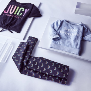 $15.99起即将截止:Juicy Couture 儿童服饰特卖,粉粉嫩嫩超可爱