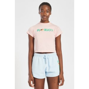 Fiorucci蜜桃粉T恤