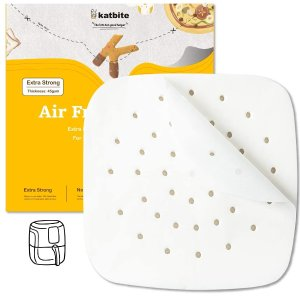 katbite 6.5英寸空气炸锅垫纸 120张