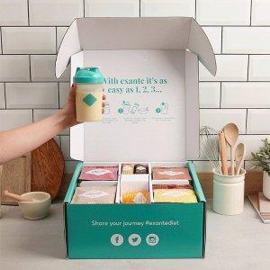 无门槛6.5折+送电子书独家:Exante 六月折扣上线 收代餐奶昔、代餐粉 低脂健康又美味