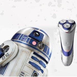 现价:£39.99(原价£119.99)史低价:Philips飞利浦 限量版星战R2-D2 电动剃须刀