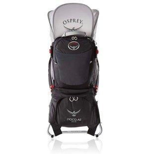 Amazon.com: Osprey Packs Poco AG Plus Child Carrier, Black: Osprey: Sports & Outdoors
