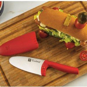 低至7.5折+换购活动Zwilling 双立人儿童专场 餐具4件套$29 儿童专用防切手厨刀$44