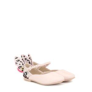 Sophia Webster Mini女童芭蕾鞋