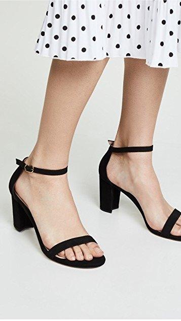 Nearlynude 一字带凉鞋