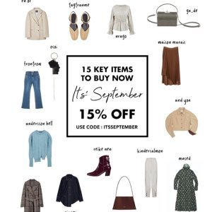 Extra 15% OffWConcept 15 Key Items For September