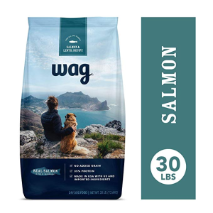 $31.49 (原价$44.99)史低价:Amazon旗下品牌Wag 三文鱼味狗粮 30lb