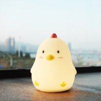 MUID 【自营】MUID早睡鸡入眠灯宝宝硅胶玩具触摸小夜灯孕妇喂奶床头灯