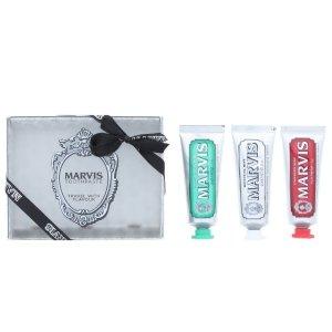 Marvis牙膏3件套