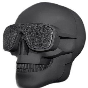 $33.99(原价$39.99)Skull Head 骷髅头音箱  来嘛 互相伤害啊