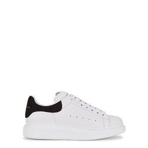 Alexander McQueen美国定价$490黑尾小白鞋