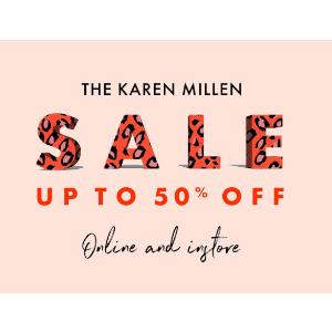 低至5折 多款再降价! 连衣裙£65起Karen Millen 多款美裙美衣、鞋包换季大促 年会美衣备起来!