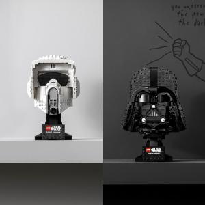 双倍积分+买赠活动新品上市:LEGO官网 星战日活动,R2-D2新品、2款新头盔作品上市
