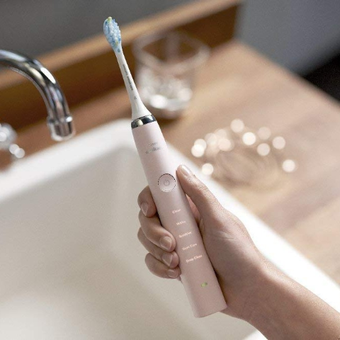 2.9折起 三代玫瑰金最好价随时截止:Philips 钻石牙刷全线震撼价补货 封面女神粉$171