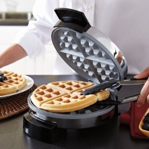 现价$21.97(原价$30.83)Oster 迷你华夫饼机 自制美味香甜华夫饼 快手早餐神器