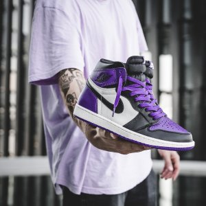 air jordan 1 court purple stockx