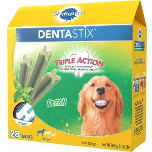 Pedigree Dentastix Large Fresh Dog Treats