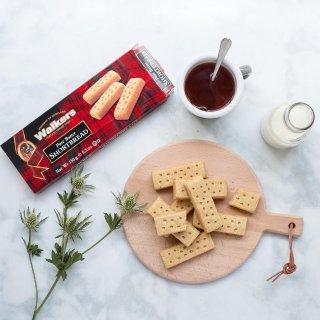 额外8.5折 + 免邮Walkers Shortbread 苏格兰黄油饼干促销