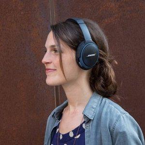 低至5折 优惠价€115.99黑五价:Bose SoundLink 头戴式蓝牙耳机 超强音质 无线自由