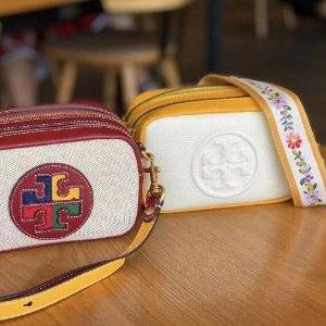 2折起+叠85折 €214收封面款Tory Burch 热促 小香风编织包、相机包、托特包等都有