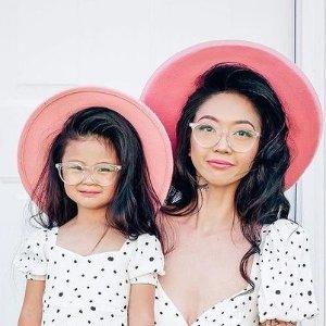 买一送一Eyebuydirect 儿童眼镜 亲肤材质舒适轻巧结构 保护孩子眼睛