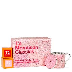 T2 tea$75/2盒(原价$100/2盒)水果茶包*2+马克杯套装- T2 APAC | T2 TeaAU