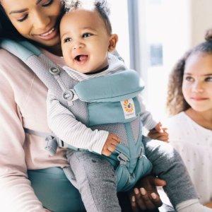8折无税上新:Ergobaby Omni 360 婴儿背带特卖 网眼透气款也参加