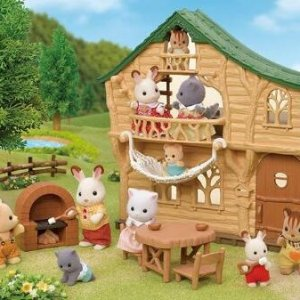 面包屋直邮含税到手$57森贝儿家族 可爱小动物们的聚会 梦想小菜园套装$8.6