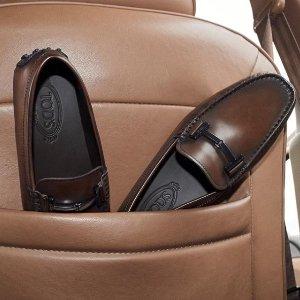 无门槛75折 £270收新款双T扣穆勒Tod's 全线美包美鞋热卖  收火爆新款双T扣