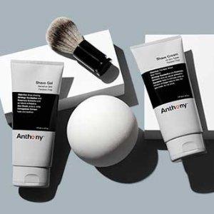 立享8折 帮你关爱男票的面子Anthony  专业男士护肤系列特价促销