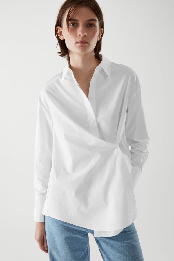 设计感衬衫