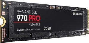 $197.99 (原价$249.99)Samsung 970 PRO 512GB NVMe PCIe M.2 固态硬盘