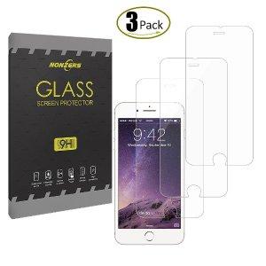 白菜价$2.99凑单好物: NONZERS  iPhone 7 Plus  钢化屏幕保护膜 3张