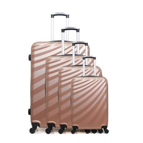 1.8折 €89.99收封面4只箱子折扣升级:Cdiscount 行李箱热卖 回国东西装不完 大中小4件套来帮你